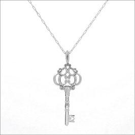 ILIOST Key #di Necklace 18KWG