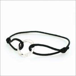 Aion Cord Bracelet 18KWG