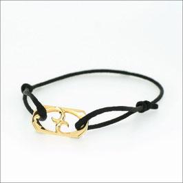 Harmonia Cord Bracelet 18KYG
