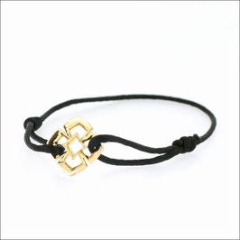 Triphylli Cord Bracelet 18KYG