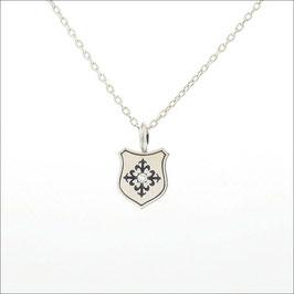 Flory Cross Necklace/Diamond