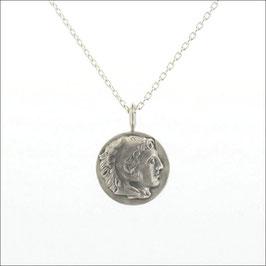 Reversible Coin Necklace-Alexander/Diamond