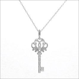 ILIOST Key #tri Necklace 18KWG