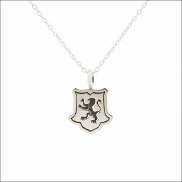 Intaglio Lion Necklace