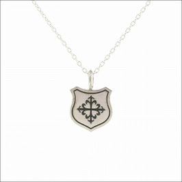 Intaglio Crest Necklace