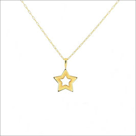 Starry Necklace 18KYG