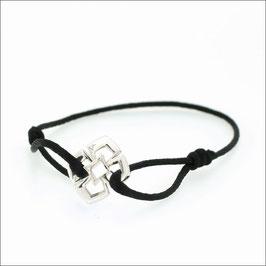 Triphylli Cord Bracelet 18KWG