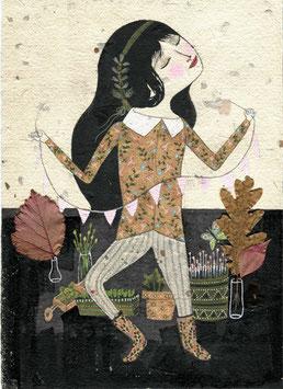 Chica de otoño - OBRA ORIGINAL