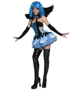 庭に舞い降りた堕天使コスチューム5点セット TAINTED GARDEN STRICKEN ANGEL Halloween Fancy Dress Costume Small Size 8-10