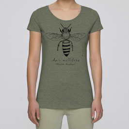 Frauen T-Shirt in mid heather khaki