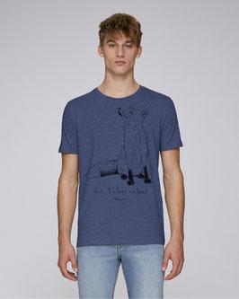 Herren Shirt in Farbe dark heather indigo