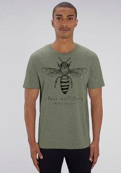 Herren Shirt in Farbe heather khaki