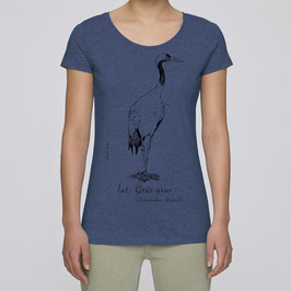 Frauen T-Shirt in dark heather indigo