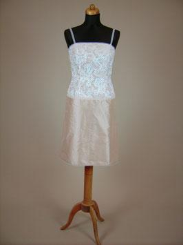 Kurzes Brautkleid Nelia aus Seide
