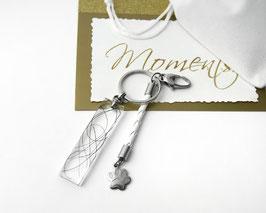 MEMORY Schlüssel-Anhänger weiß