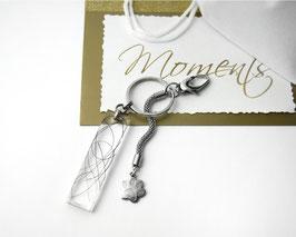 MEMORY Schlüssel-Anhänger Edelstahl