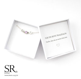 Geschenkbox Wunschtext