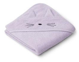 Kapuzenhandtuch Albert Cat light lavender