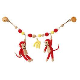 Kinderwagenkette Affen