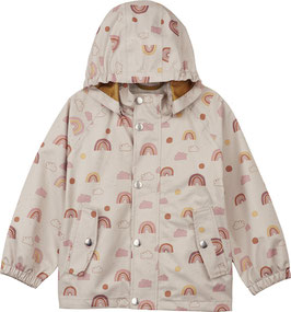 Liewood Parker Rainwear Rainbow Love sandy Junior size