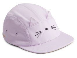 Liewood Rory Cap - Cat light lavender