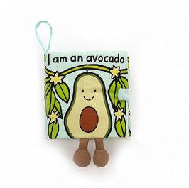 Jellycat Avocado Fühlbuch