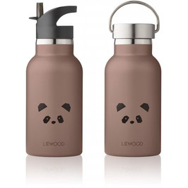 Trinkflasche Panda dark rose - Anker Water Bottle