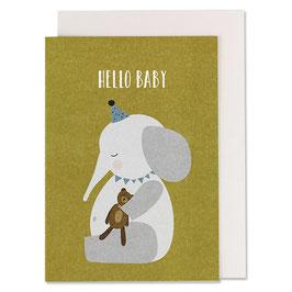 Klappkarten 'Hello Baby'