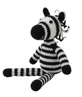 Rassel Zebra Bio Baumwolle