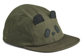 Liewood Rory Cap - Hunter green Panda