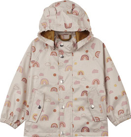 Liewood Dakota Rainwear Rainbow Love sandy Toddler size