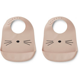 Lätzchen aus Silikon - Tilda Katze