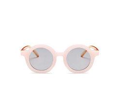 Kindersonnenbrille Vintage Style rosa