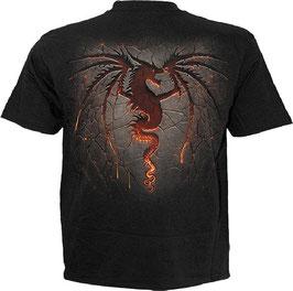 T-Shirt Dragon Furnace XXL