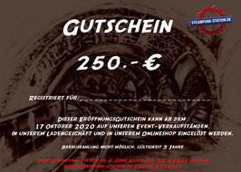 250,- Euro Gutschein