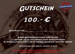 100,- Euro Gutschein