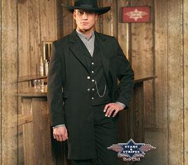 Schwarzer Oldstyle Anzug