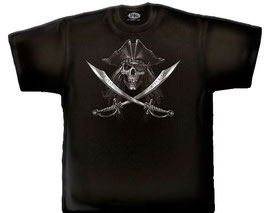 T-Shirt Pirate Course L