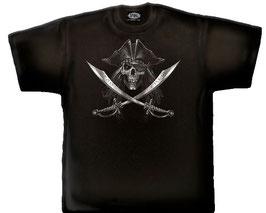 T-Shirt Pirate Course L