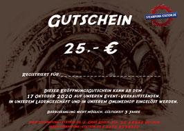 25,- Euro Gutschein