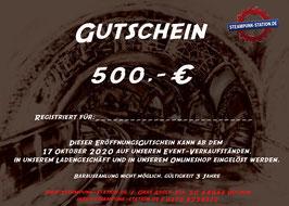 500,- Euro Gutschein