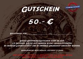 50,- Euro Gutschein