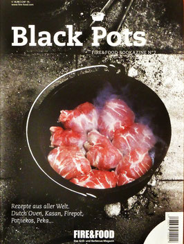 Black Pots - Fire & Food Bookazine No. 2