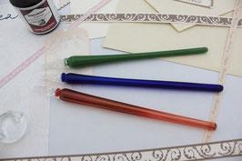 ガラスペン(被せガラス・単色)