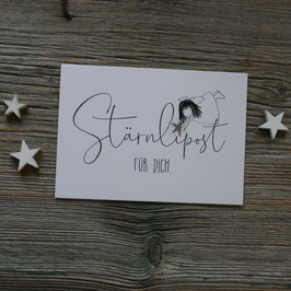 "Ängeli-Postkarte ""Stärnlipost"""