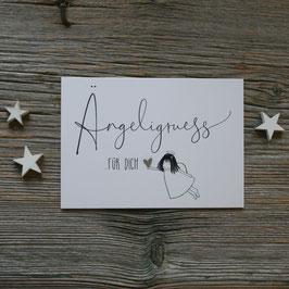 "Ängeli-Postkarte ""Ängeligruess"""