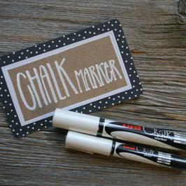 """Schreibstift  """"Chalkmarker"""" weiss"""