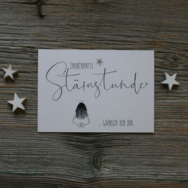 "Ängeli-Postkarte ""Stärnstunde"""