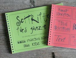 """Schriften """"Set 1 & 2"""""""