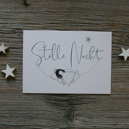 "Ängeli-Postkarte ""Stille Nacht"""